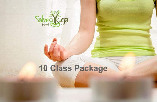 Yoga Classes - 10 Class Package