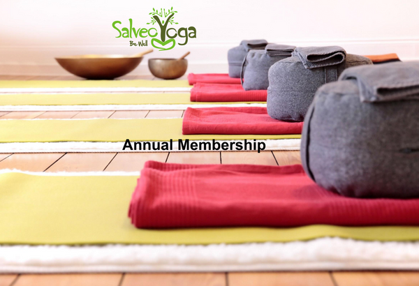 Salveo Yoga Annual Membership