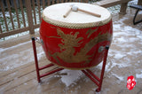 CHINESE SUPER  LARGE FIGHTING DRUM SET  --  中國超大(24市寸)战鼓