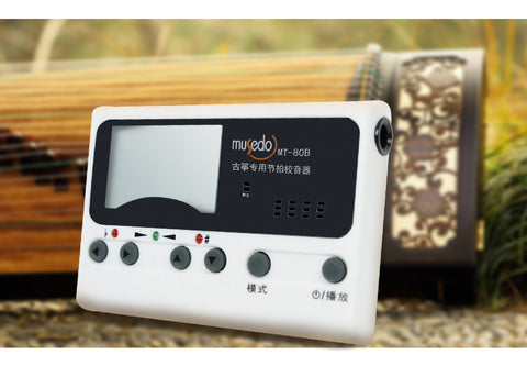 Guzheng Chromatic Tuner, Metronome, Tune setting, three in one--古箏專用調音器/定音器/節拍器(三合一)
