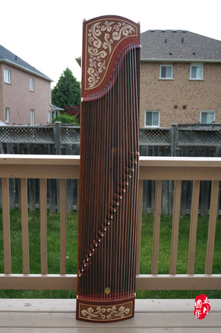 BUBINGA WOOD GUZHENG-- 'AUSPICIOUS CLOUD'