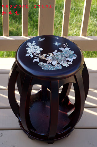 Solid Wood Guzheng/Yangqin Stool -- 實木古箏/揚琴凳