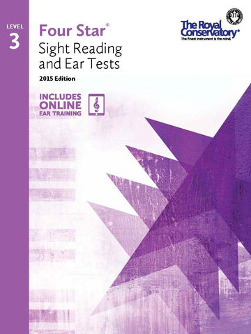 Four Star® Sight Reading and Ear Tests Level 3