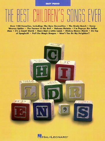 Best Children's Songs Ever Paperback – Apr 1 1998