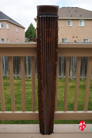 ANTQUE AGED FIR WOOD, COLLECTION LEVEL GUQIN, ZHUJIE