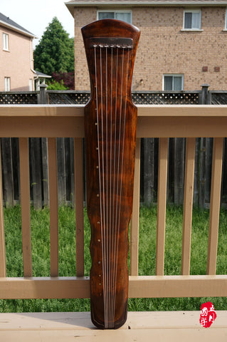 AGED FIR WOOD, STANDARD LEVEL GUQIN, FUXI