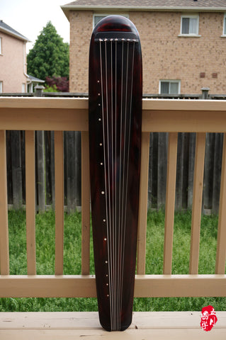 AGED FIR WOOD, STANDARD LEVEL GUQIN, HUNDUN