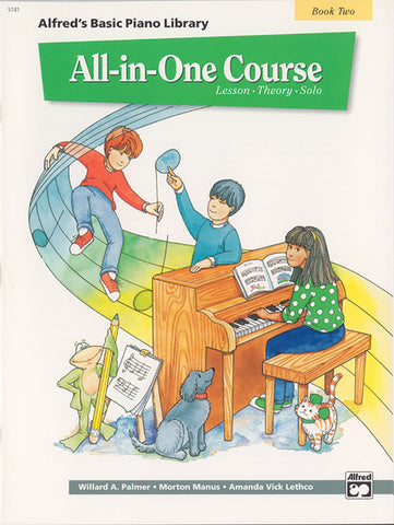 Alfred's Basic All-in-One Course, Bk 2: Lesson * Theory * Solo