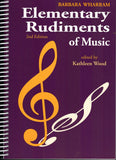 Elementary Rudiments of Music, 2nd Edition