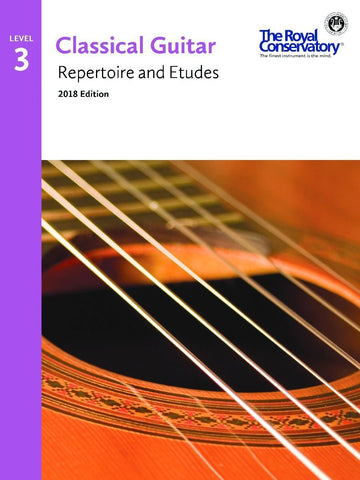 Guitar Repertoire and Etudes 3