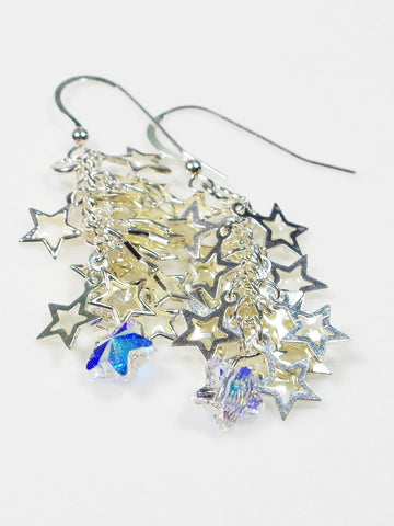Dangling Stars Earrings - Lady Likes Jewelry - 1