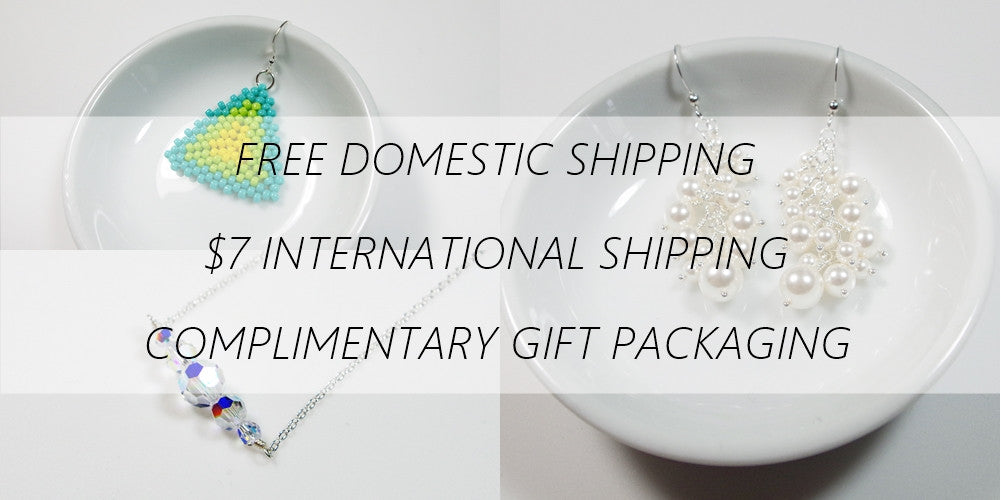 Free USA shipping on all LadyLikesJewelry products