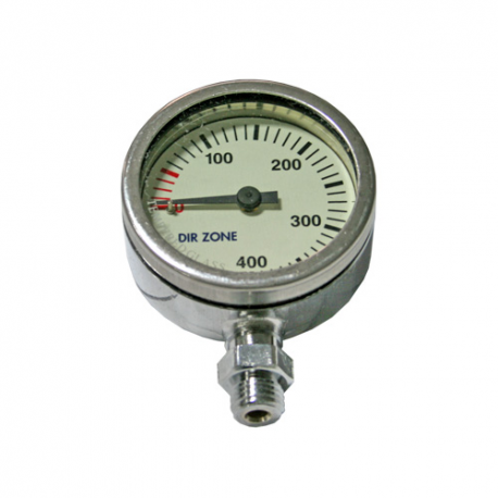 DIRZone 52mm 300 Bar Chrome Pressure Gauge