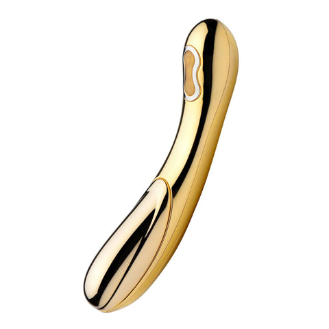 Inmi D-oro 24k Gold Plated Warming Vibrator
