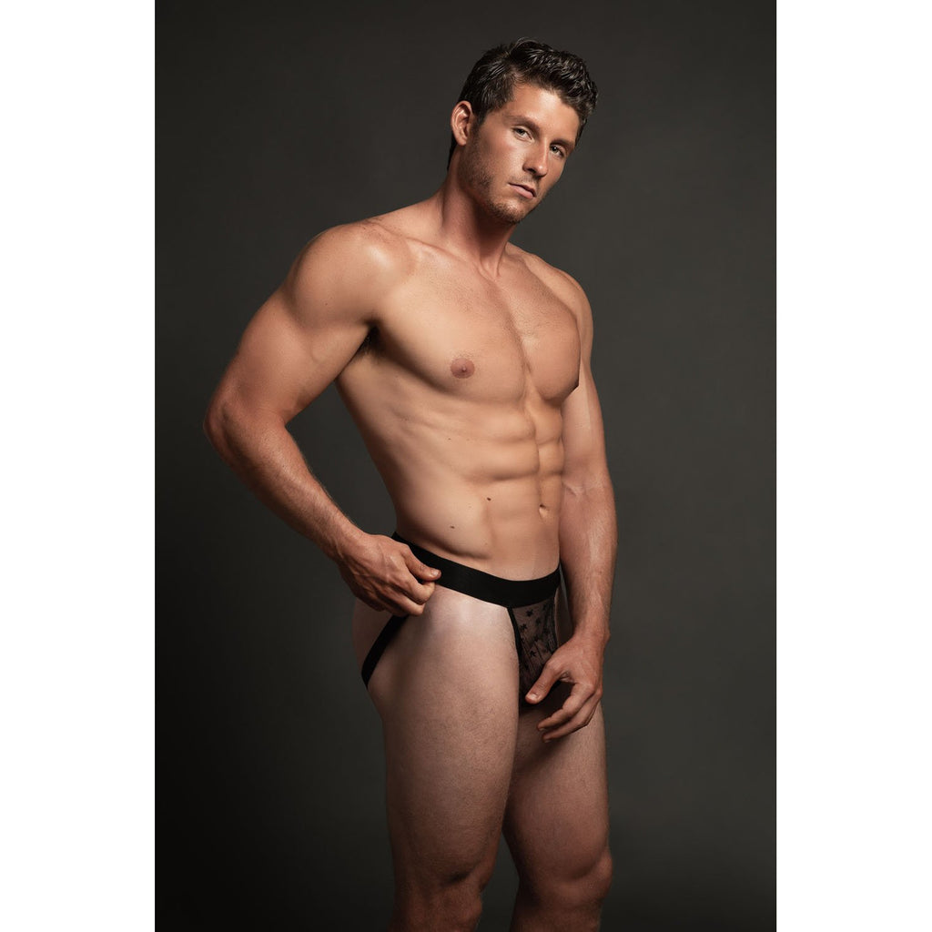 Luca Star Jock - Black - S-m