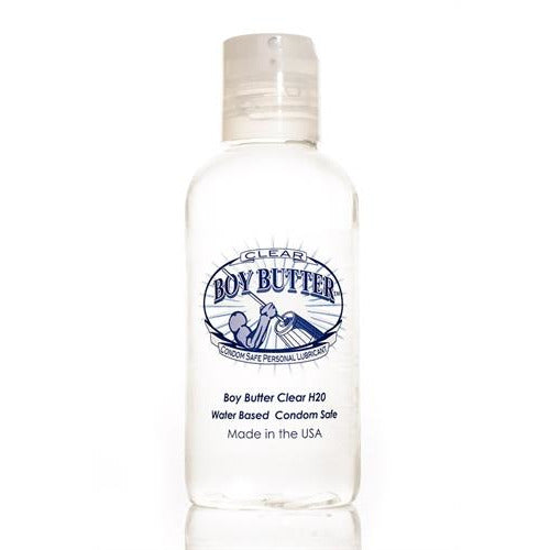 Boy Butter Clear H2O 4 Oz