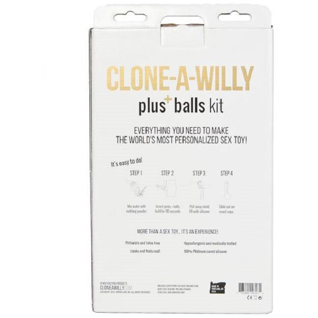 Clone-a Willy Plus Balls Kit - Light Skin Tone