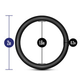 Performance - Vs3 Pure Premium Silicone  Cockrings - Large - Black
