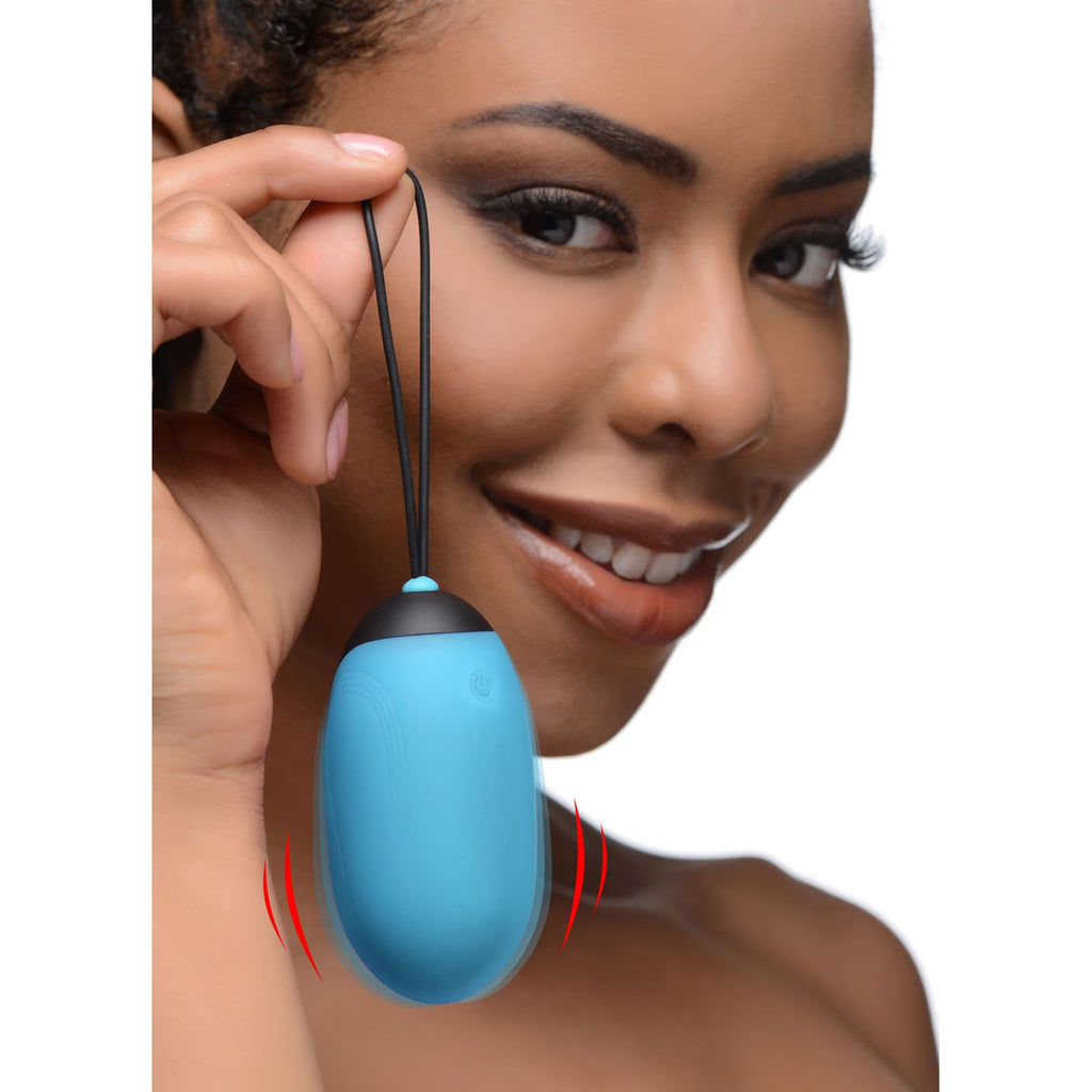Bang XL Silicone Vibrating Egg - Blue
