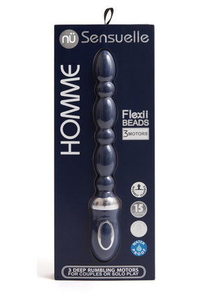 Homme Flexii Beads - Navy Blue