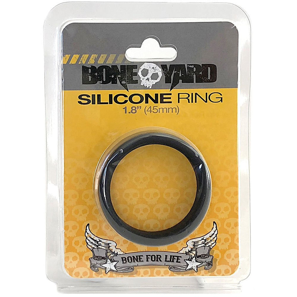 Boneyard Silicone Ring 45mm - Black