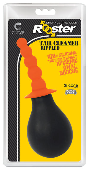 Rooster Tail Cleaner Rippled - Orange