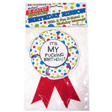 X-Rated Birthday Party Award Ribbon