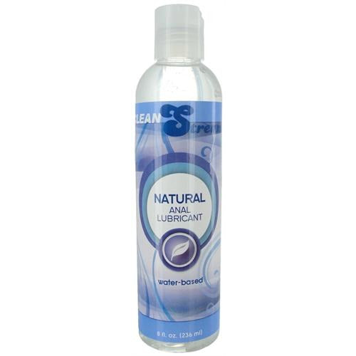 Natural Water Based Anal Lubricant 8 Oz