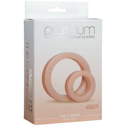 Platinum Premium Silicone - the C-Rings - White
