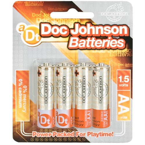 Doc Johnson Batteries - AA - 4 Pack