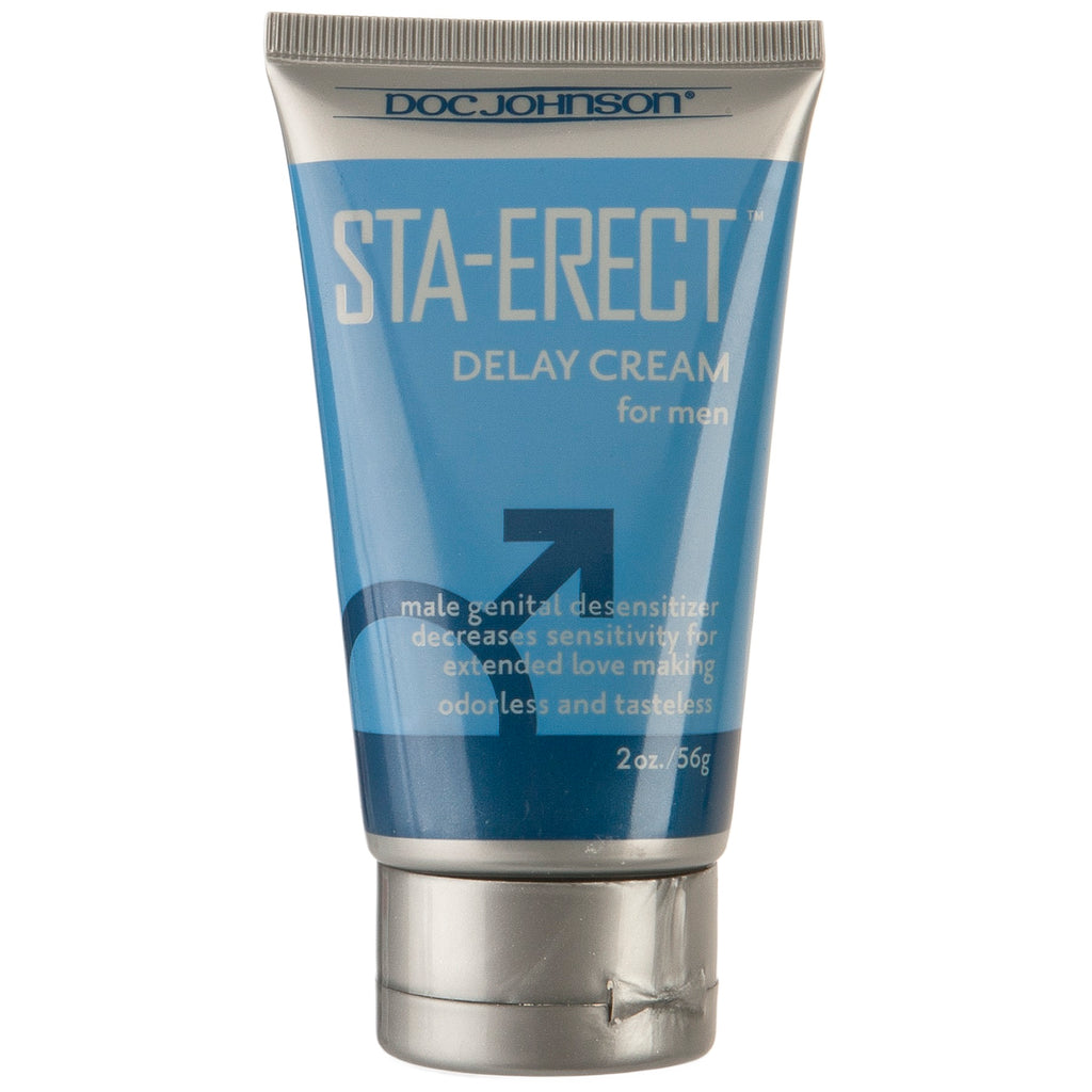 Sta-Erect Delay Cream for Men - 2 Oz. - Bulk