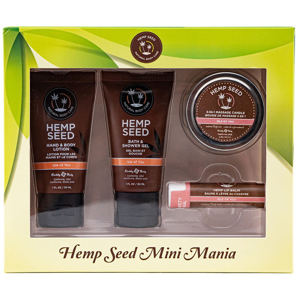 Hemp Seed Mini Mania Travel Set - Isle of You
