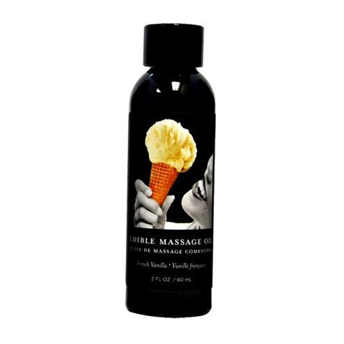 French Vanilla Edible Massage Oil 2 Oz