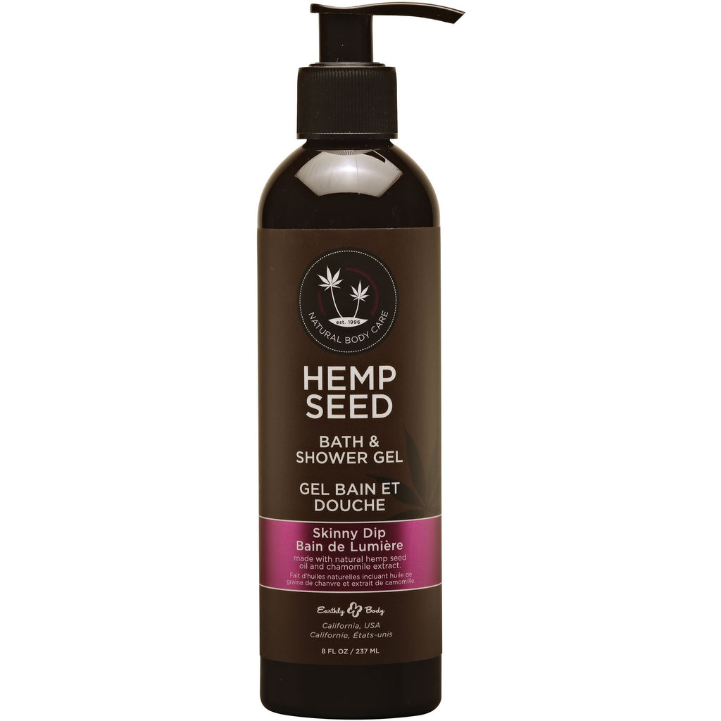 Hemp Seed Bath and Shower Gel - Skinny Dip - 8 Oz. - 237ml