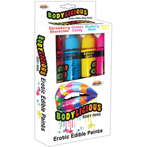Bodylicious Edible Body Pens - 4pk. - Assorted  Flavors