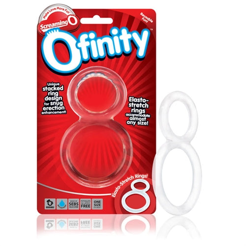 Ofinity Double Ring - Clear