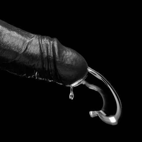 The Drencher - 10 Inch Black Squirting Dildo by Kink