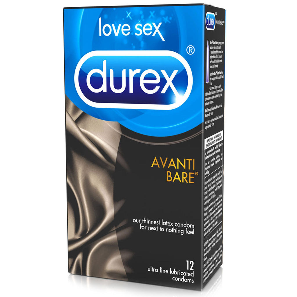 Avanti Bare 12 Pack by Durex