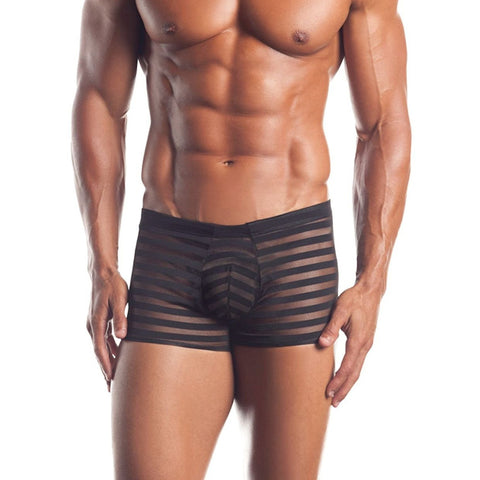 Excite Striped Mesh Boxers