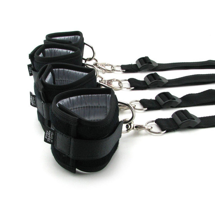 Hard Limits Bed Restraints Kit by Fifty Shades of Grey - His & Hers