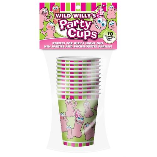 Wild Willys Party Cups - 10 Count