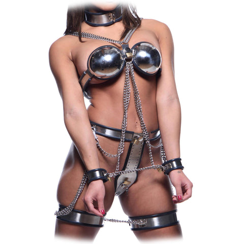 Full Body Steel Chastity