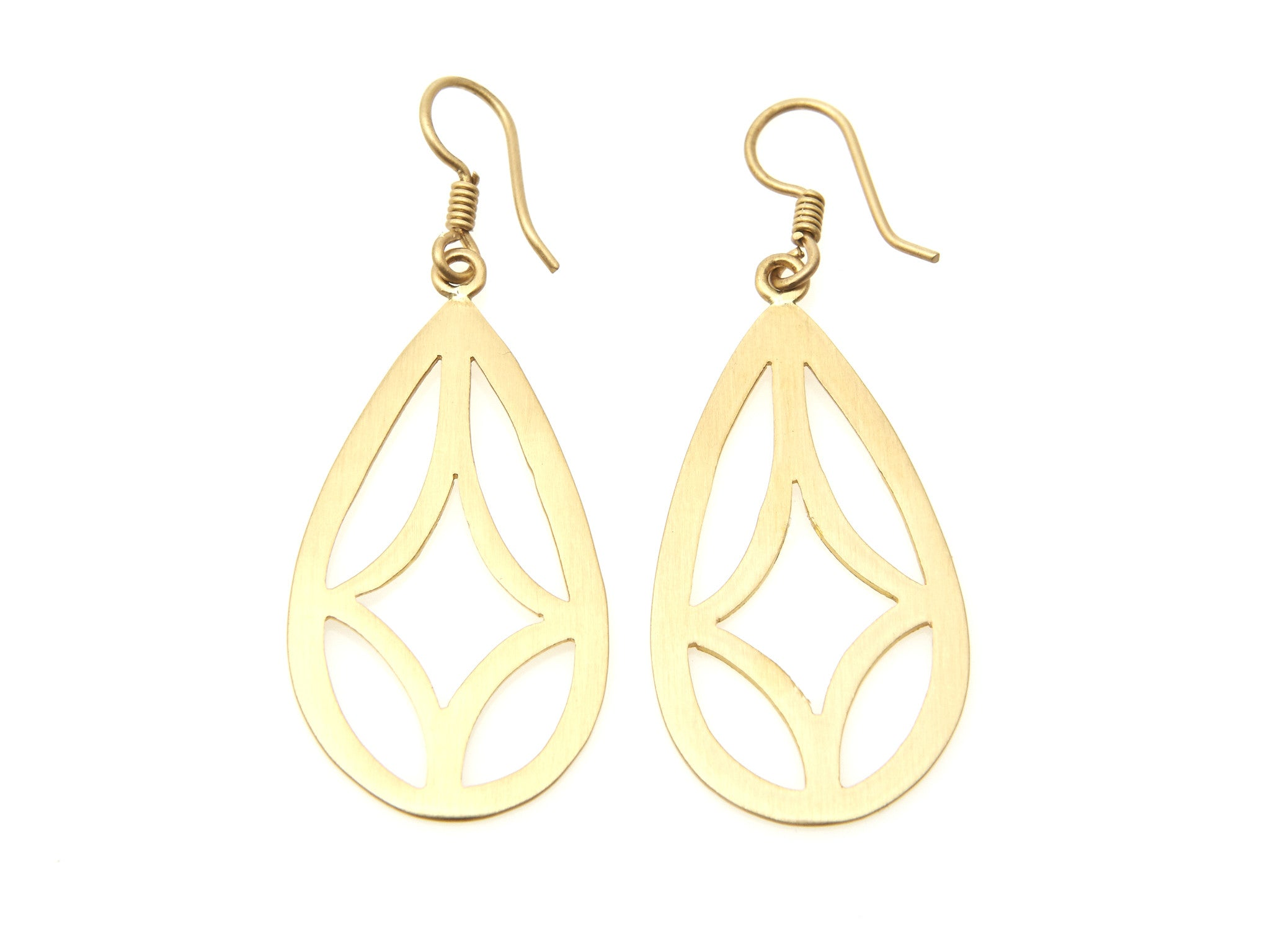 Teardrop Geometric Earrings