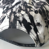 Flat Top Cap Black Marble