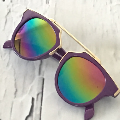 Unreal Sunglasses Purple