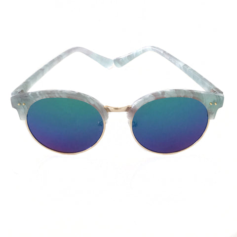 Diva Sunglasses Green