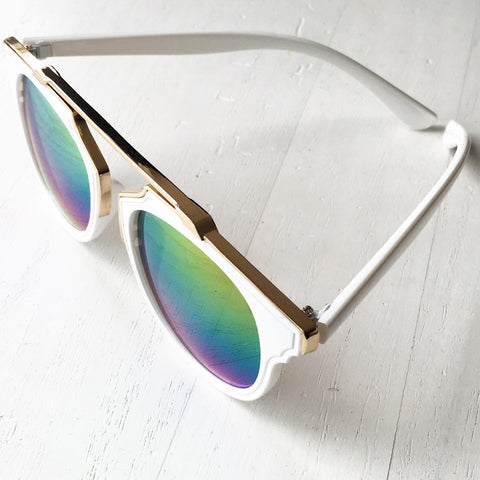 Unreal Sunglasses White