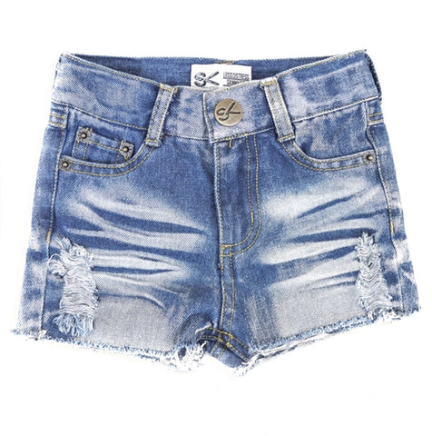 Denim Girls Shorts