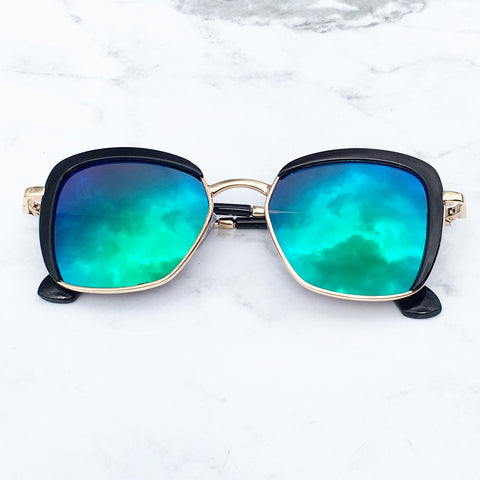 Bobo Shades Black/Mirror lens