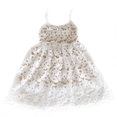 SIENA Lace Dress White